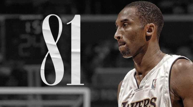 Kobe Bryant 81 puntos