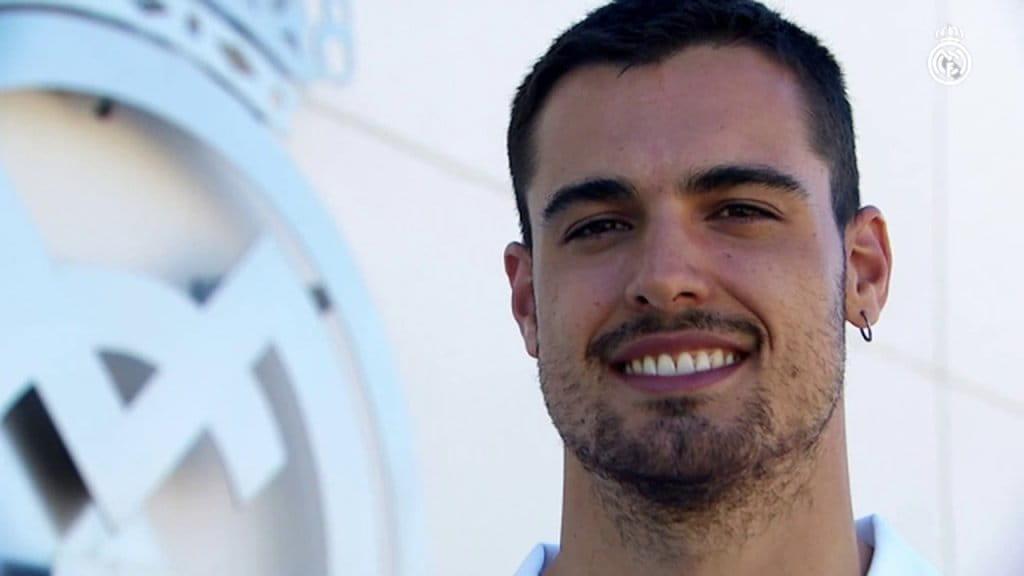 Alberto Abalde Real Madrid