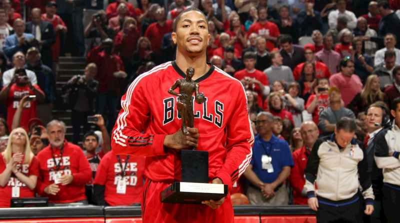 Derrick Rose Chicago Bulls MVP