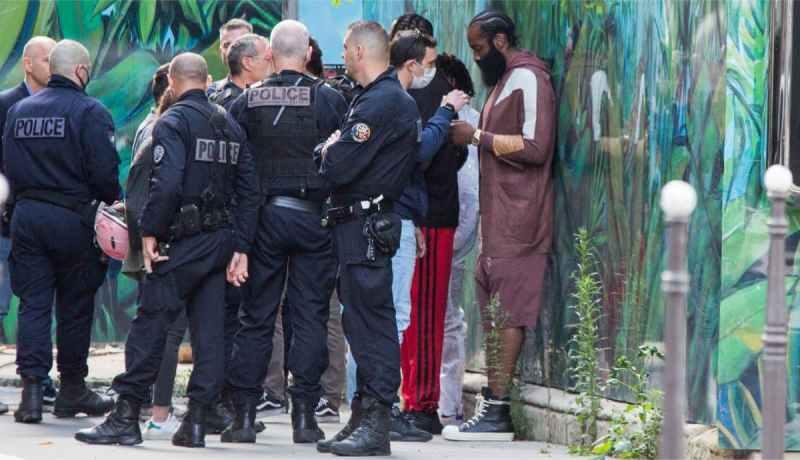 James Harden Paris Policia