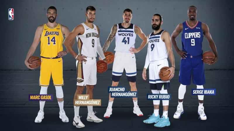 Jugadores españoles NBA actuales