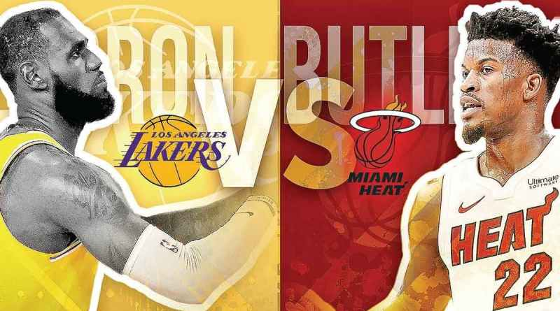 NBA Final 2020 Lakers Heat