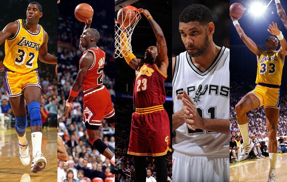 Mejor quinteto histórico NBA