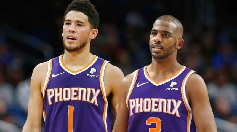 Phoenix Suns Booker Chris Paul