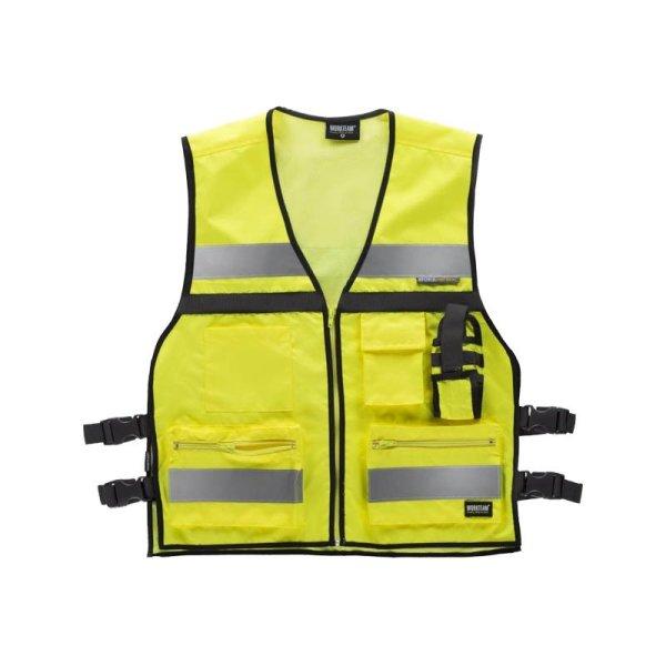 Chaleco Workteam Alta Visibilidad C3601 amarillo