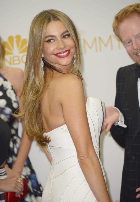 Sofía Vergara causa polémica en los Emmy