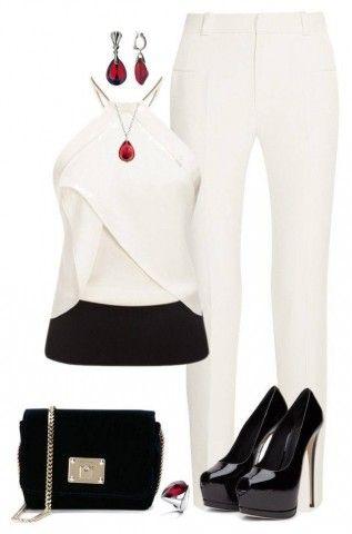 8 Formas de lucir el pantalón blanco