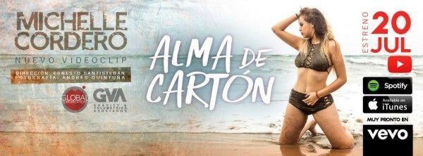 Michelle Cordero da un giro en su carrera con Alma de Cartón, un tema con tinte urbano