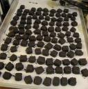 Finished caramels
