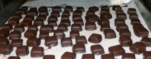 Chocolate covered caramels - jasmine tea/vanilla/orange blossom honey caramels