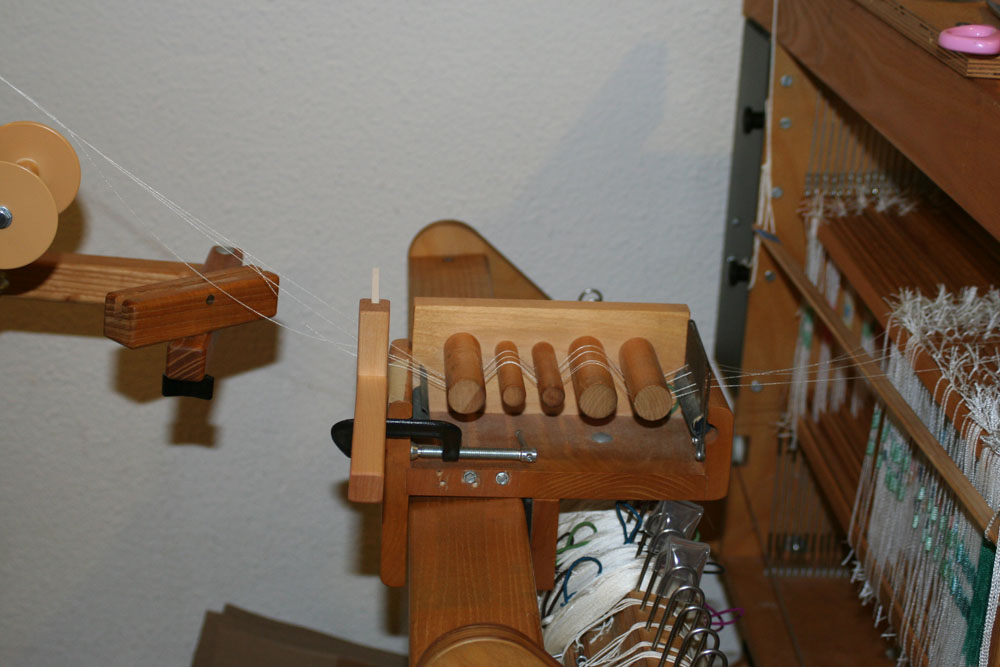Winding A Sectional Warp With The Avl Warping Wheel Tien