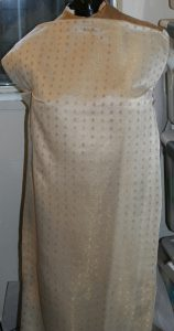 wet-finished draped full view