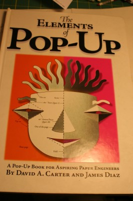 "Cover, ""The Elements of Pop-Up"""