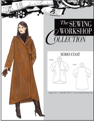 Soho coat pattern from The Sewing Workshop