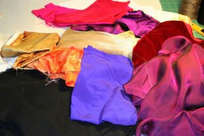 fabrics for sampler quilt