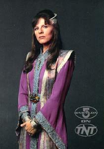 Delenn, the Minbari ambassador to Babylon 5