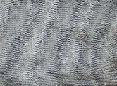 woven sample, black silk weft