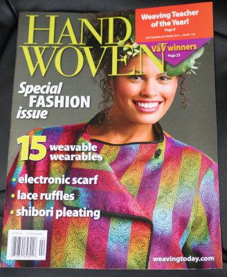 Kodachrome, on the cover of Handwoven