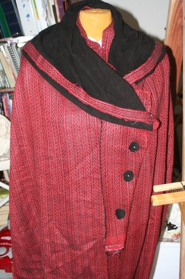 coat mockup, with buttons