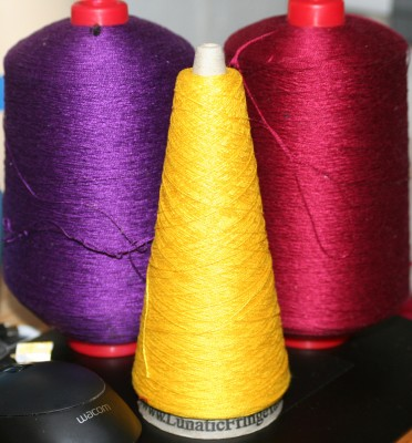 ....or purple, burgundy, and yellow?