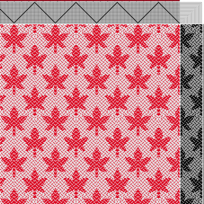 """maple leaf draft, without """"quilting"""""""