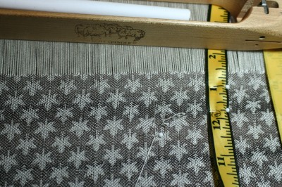 woven panel, 49.5 inches long, exactly as predicted!