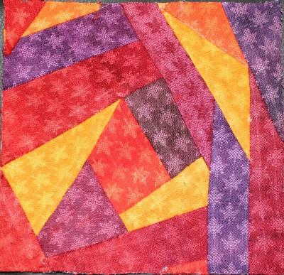 crazy quilt block