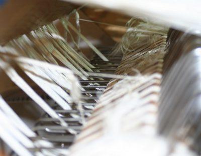 shorter warp threads