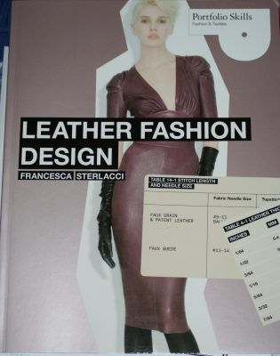 sewing with leather!