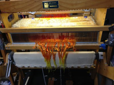 phoenix rising sample - sleyed warp
