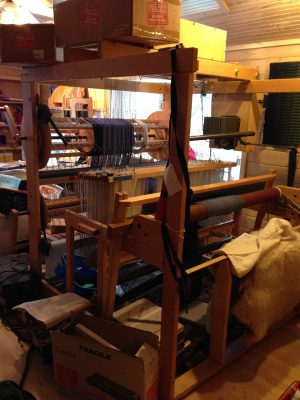 My new 40-shaft AVL loom!