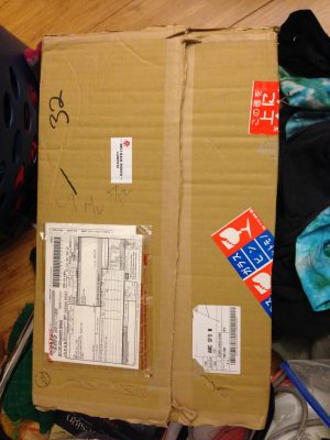 A mysterious box from Japan