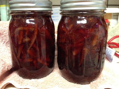 strawberry - blood orange marmalade