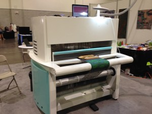 Digital Weaving Norway's TC-2 jacquard loom, front view