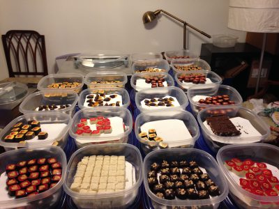 A hundred and sixteen pounds of chocolates