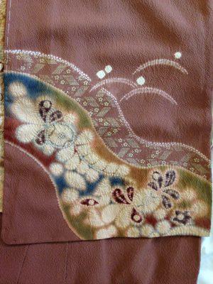tsujigahana kimono sleeve