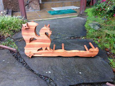 dragon inkle loom, back side