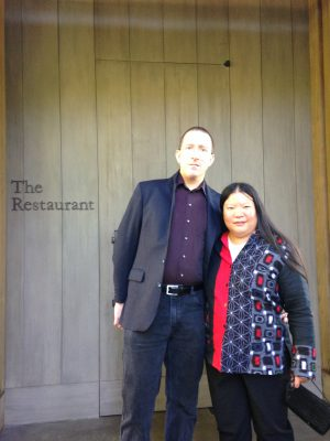 Mike and Tien at The Restaurant at Meadowood