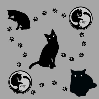 cat napkins!