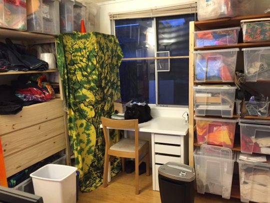 studio, after reorganizing