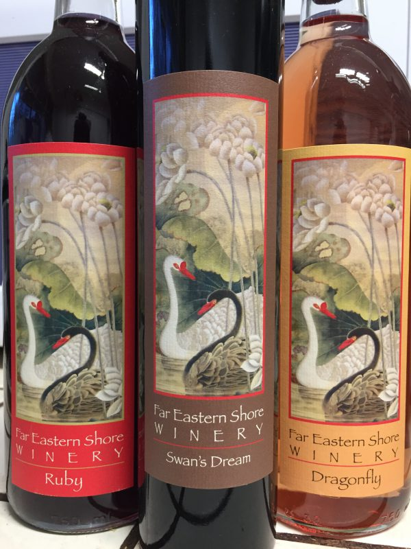 wines from Far Eastern Shore Winery