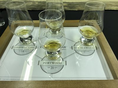 The Balvenie Scotch tasting