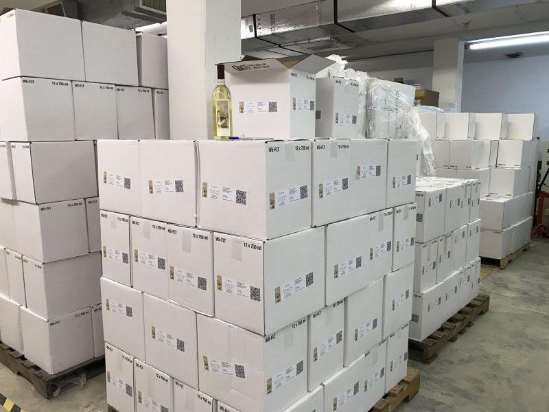 Warehouse at Far Eastern Shore Winery