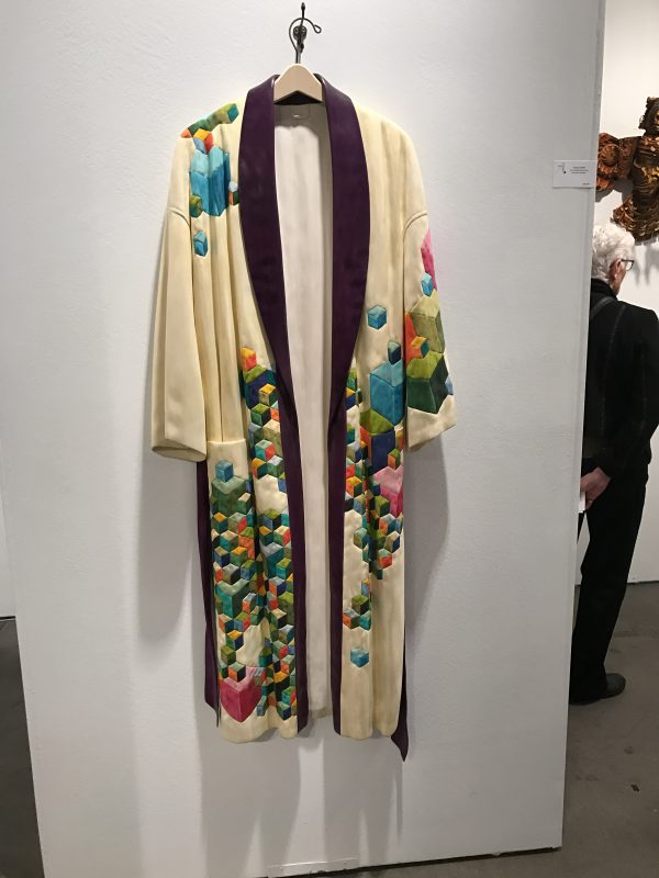 "Fraser Smith, ""First Quilted Robe of the Reclusive Eccentric"". Adam Blaue Gallery."