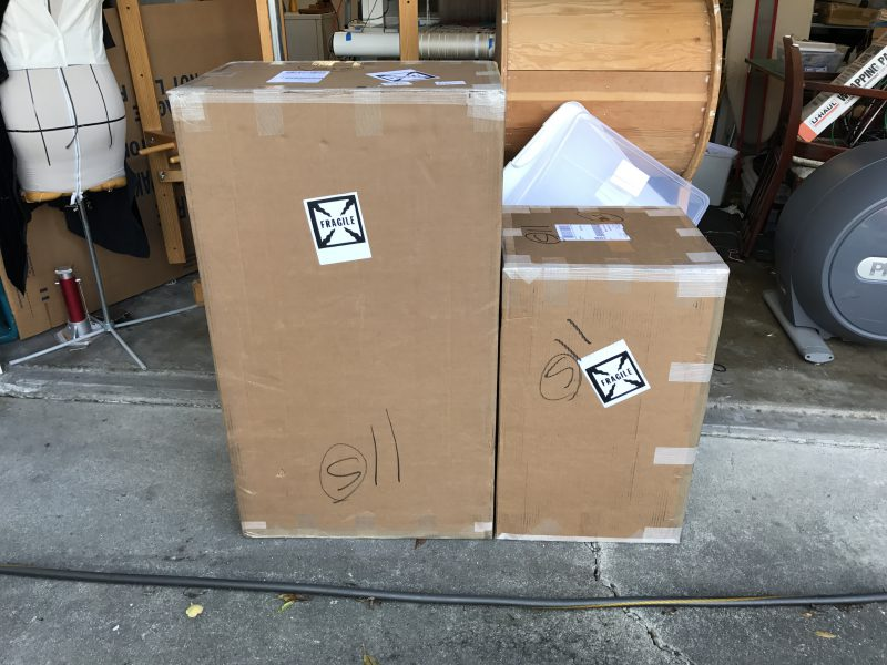 Two mysterious boxes