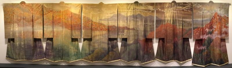 """6 kimono from Itchiku Kubota's """"Symphony of Light"""""""