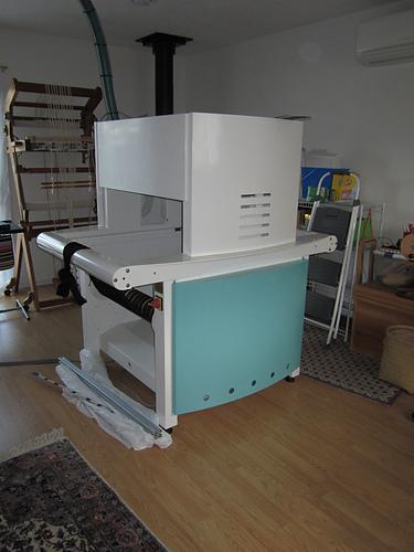 new TC-2 jacquard loom
