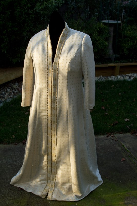 handwoven wedding coat