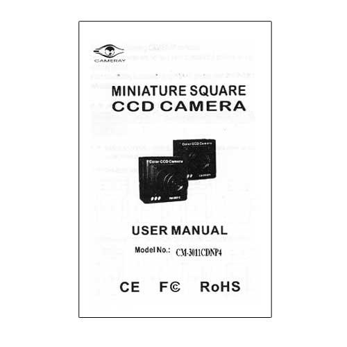 Ultra-miniature caméra filaire, faible luminosité