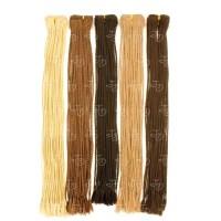 Synthetic braiding weft hair extensions - Justino Delgado